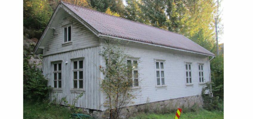 Stapnes skolehus, Riving